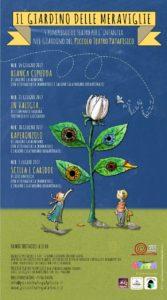 IL GIARDINO DELLE MERAVIGLIE - 4 APPUNTAMENTI DI TEATRO PER I PICCOLI @ Piccolo Teatro Patafisico  | Palermo | Sicilia | Italia